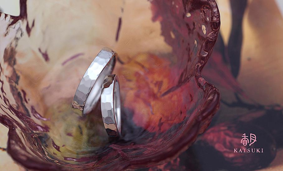 """オリジナル結婚指輪 """"ラルム""""  ¥99.500-/税別~   ◆シルバー制作可:¥18.500/税別~"""