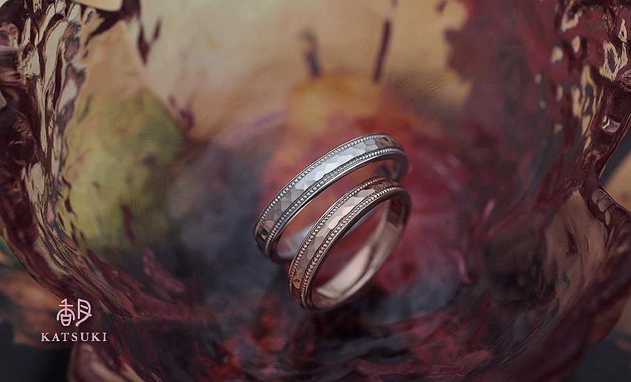 """オリジナル結婚指輪 """"ラヴィサン""""  ¥97.500-/税別~   ◆シルバー制作可:¥20.000/税別~"""