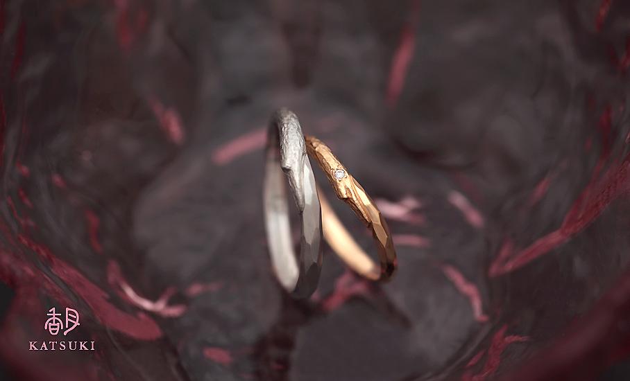 """オリジナル結婚指輪 """"リミナンス""""  ¥76.100-/税別~   ◆シルバー制作可:¥16.500/税別~"""