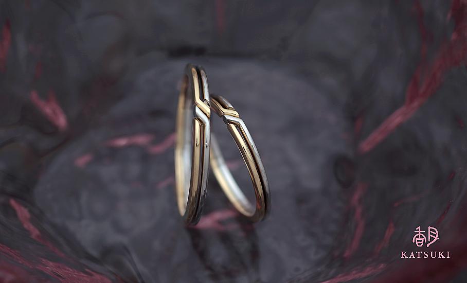 """オリジナル結婚指輪 """"パ・ドゥー"""" ¥80.500-/税別~   ◆シルバー制作可:¥18.500/税別~"""