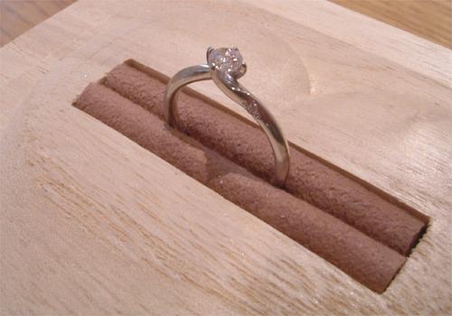 プレゼントの指輪