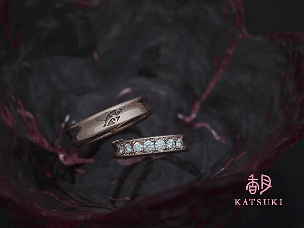 2006年結婚指輪の加工☆ピンクゴールド