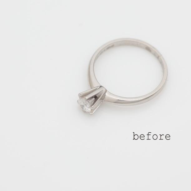 立爪の指輪のリフォーム(リメイク)をご希望なら