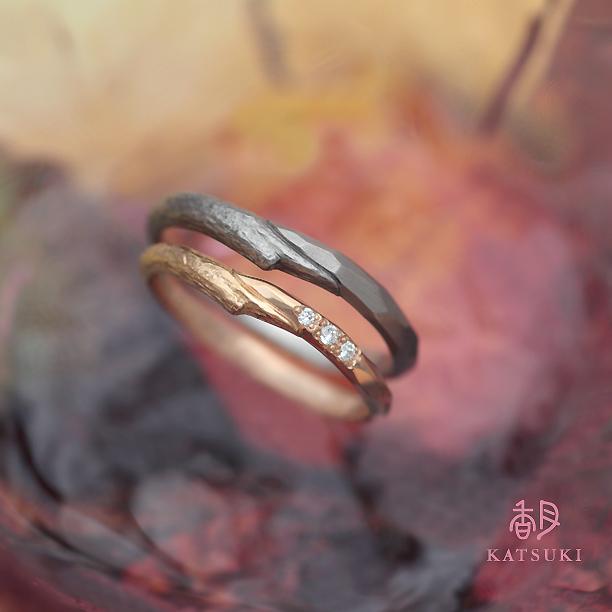 新素材ブラックプラチナの結婚指輪