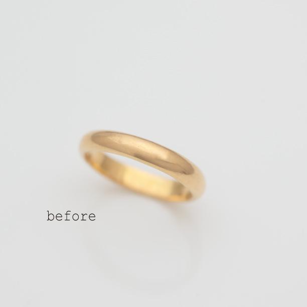 ご両親の結婚指輪のリフォーム