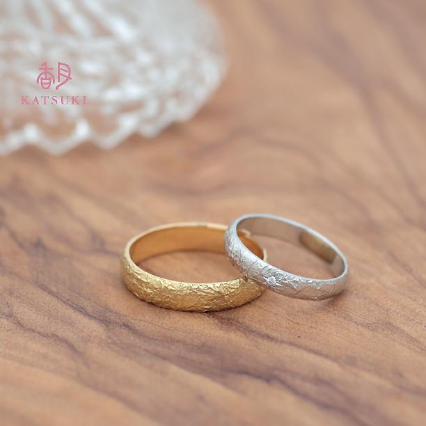 少しカジュアルに身につける結婚指輪
