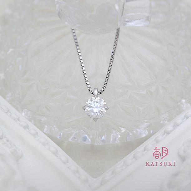 1ctの豪華なダイヤモンドネックレス