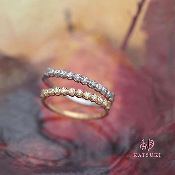 プレゼントに人気のダイヤモンドリング