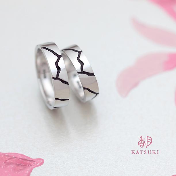 ファッションリング感覚でつけられる結婚指輪