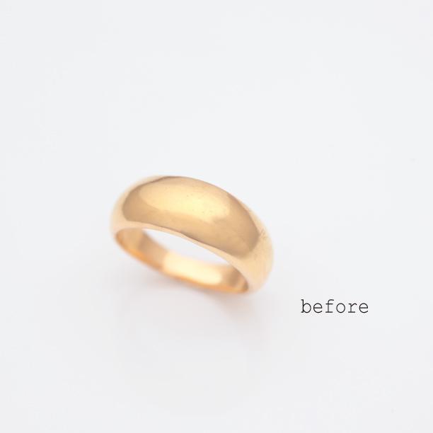 お婆様の指輪をお孫さん姉妹の指輪にリフォーム