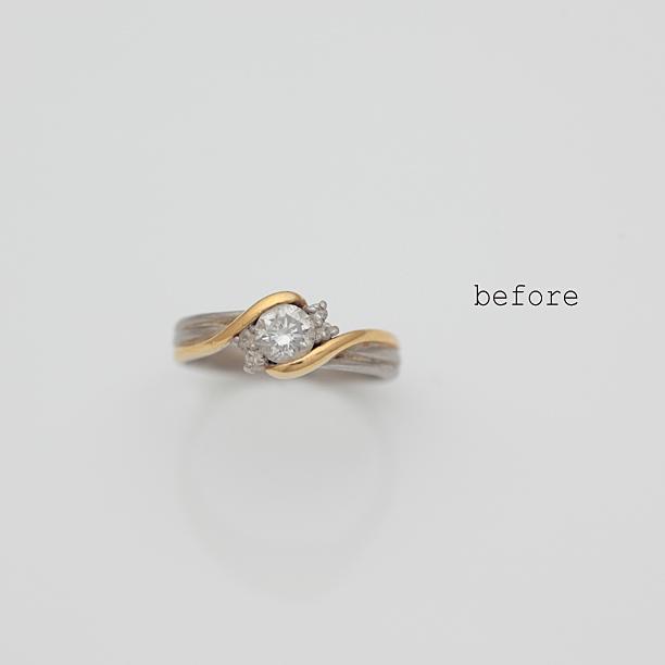 リフォームで新しくなったダイヤモンドの指輪