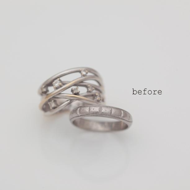 亡きお母様の結婚指輪を華やかにリフォーム