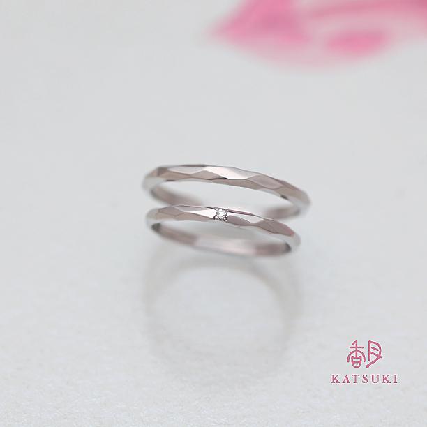 KATSUKIオリジナル素材の結婚指輪