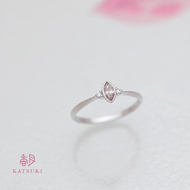 ご結婚20周年記念のダイヤモンドリング