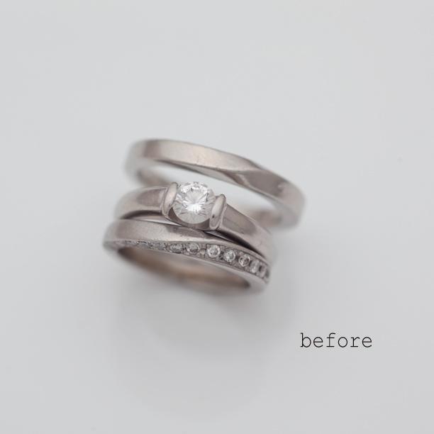 記念日に合わせた結婚指輪のリフォーム