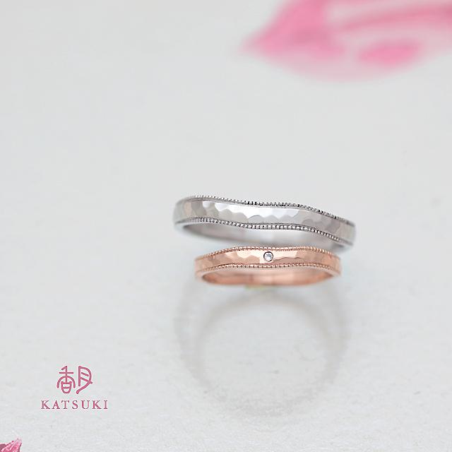 職人の一手一手が輝きを灯す結婚指輪