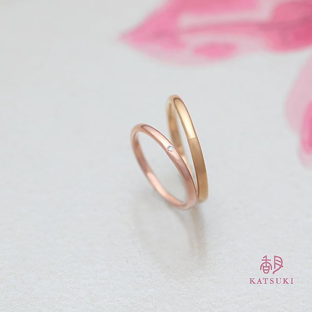 指馴染みにこだわったベーシックな結婚指輪