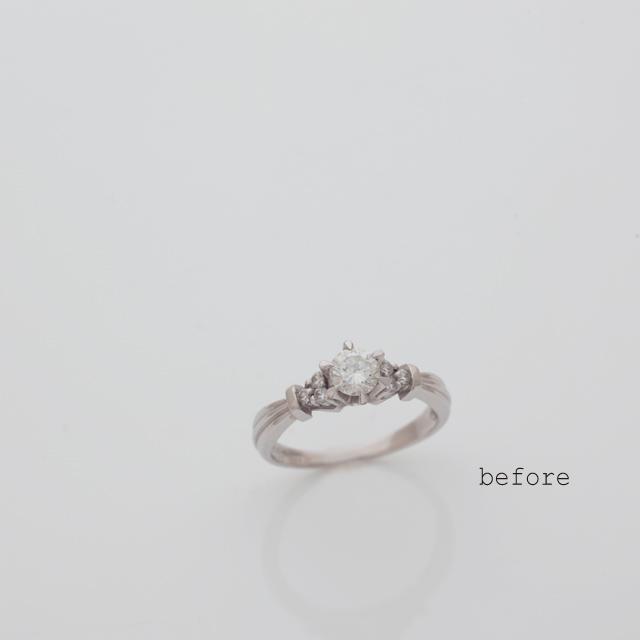 リフォームで新しく生まれた婚約指輪