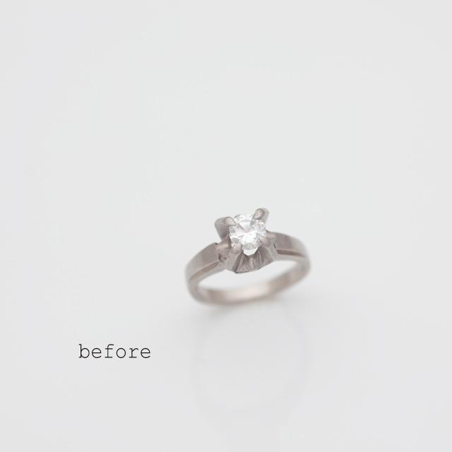 リフォームで生まれたサプライズの婚約指輪