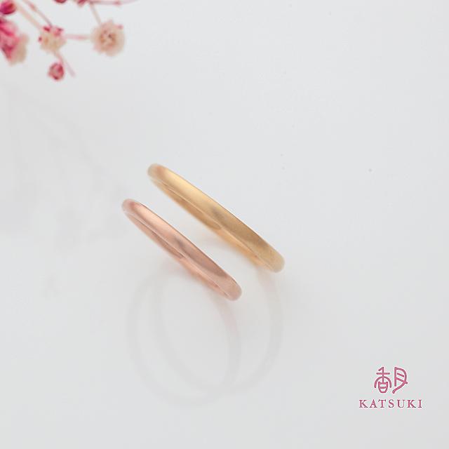 シンプルの王道ラウンドの結婚指輪【プルーヴ】