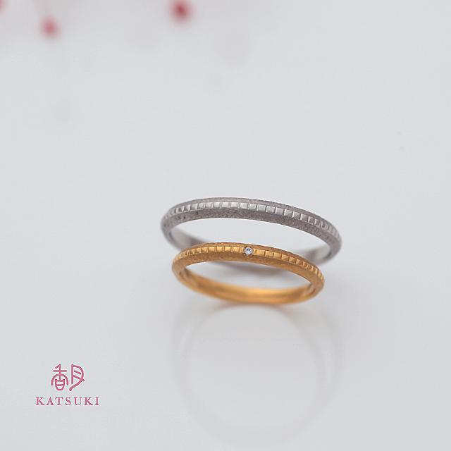 ザクザクとキラキラの結婚指輪【ルラシェ】