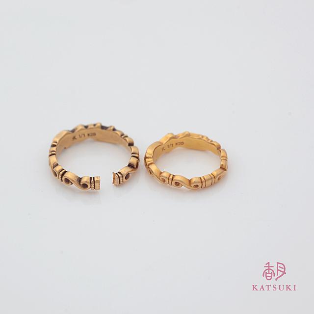 <リングカット><サイズ直し>外れなくなった結婚指輪のカット&お直し