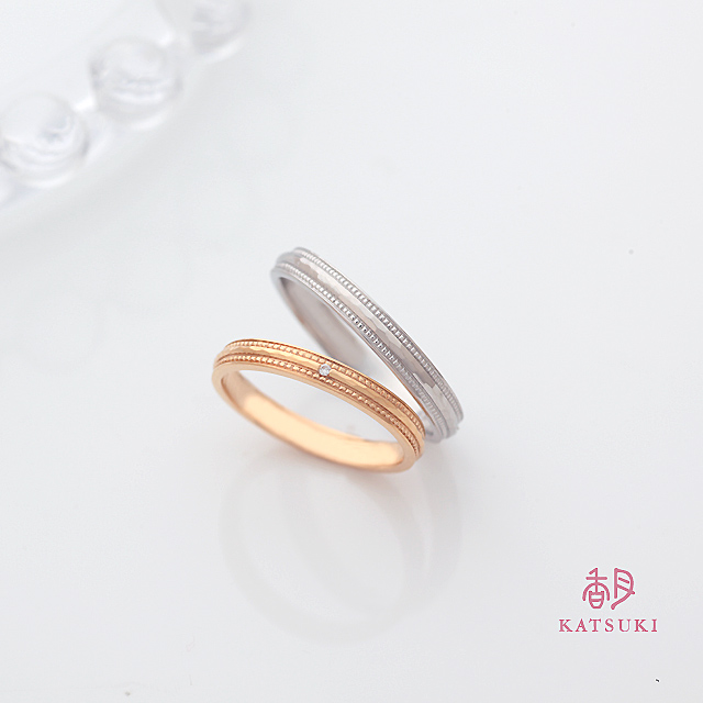 職人の手仕事がミルラインを施す結婚指輪【ラヴィベル】
