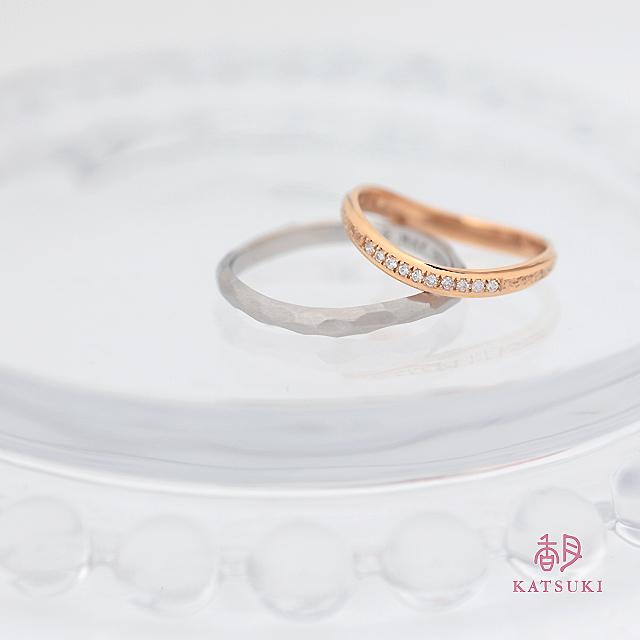 それぞれのお気に入りを結婚指輪に【ウルー】&【アンディマンシェ】