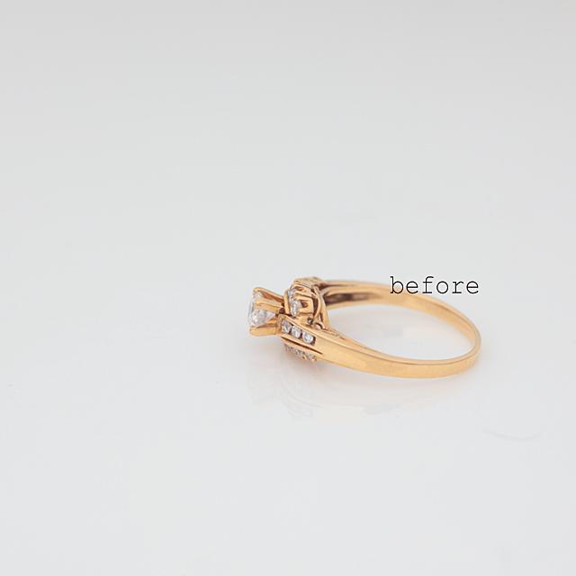 立爪ダイヤモンドリングを新しく<リフォーム>