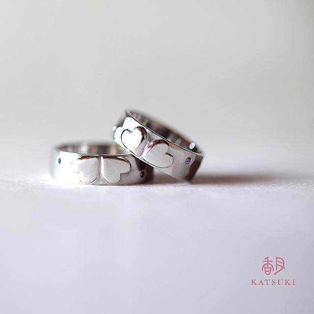 10周年記念の結婚指輪【フルオーダー】