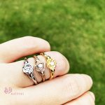 バラの指輪【ローズ/0.06ct】
